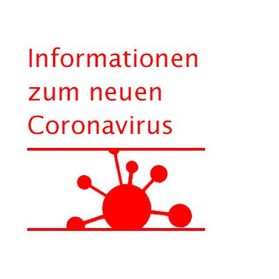 Corona Virus Banner Info BAG SHV